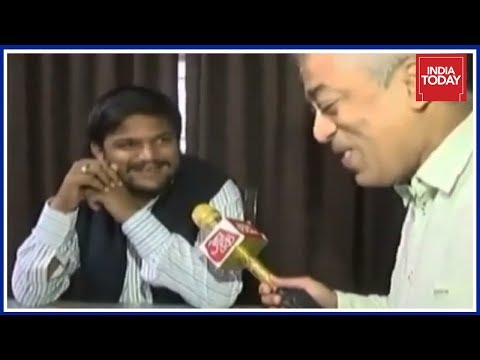 Hardik Patel Discusses Gujarat Politics With Rajdeep Sardesai Over Healthy Gujarati Breakfast