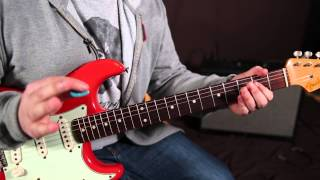 CCR - Proud Mary - Lesson - How to Play on Guitar