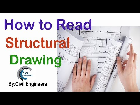 Reading structural drawings |How to Read Structural Drawings
