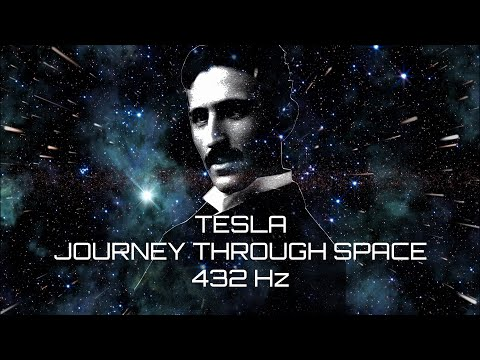 432 Hz Tesla Guided Meditation straight to Your Subconscious Mind - Journey Through Space in 4k