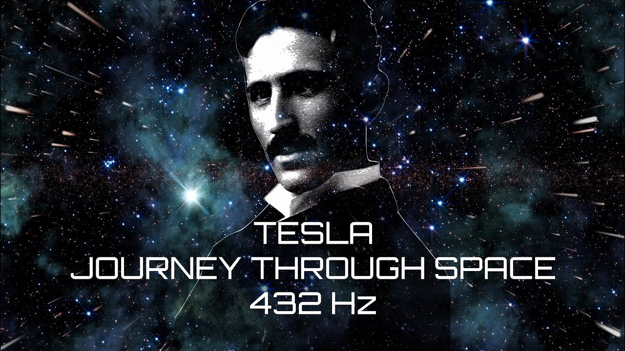 Download 432 Hz Tesla Guided Meditation straight to Your Subconscious Mind - Journey Through Space in 4k