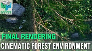 Part 16: Rendering - Maya Arnold Cinematic Forest Environment Tutorial