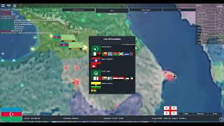 Roblox Rise of Nations Test Video 1: Forming Transcaucasia as Azerbaijan