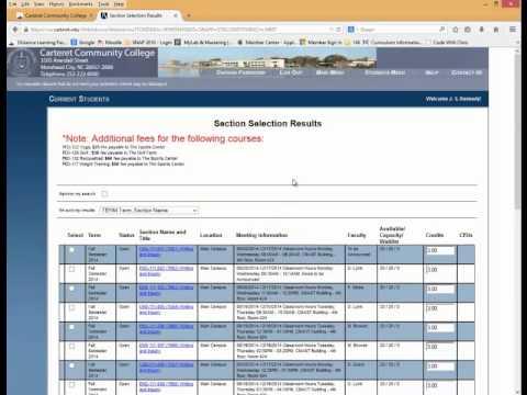 webadvisor sbvc