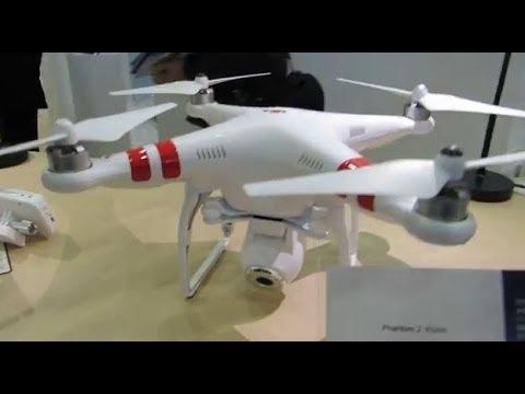 【CP+2014】DJI社ブース 空撮用ヘリユニット PHANTOMなど