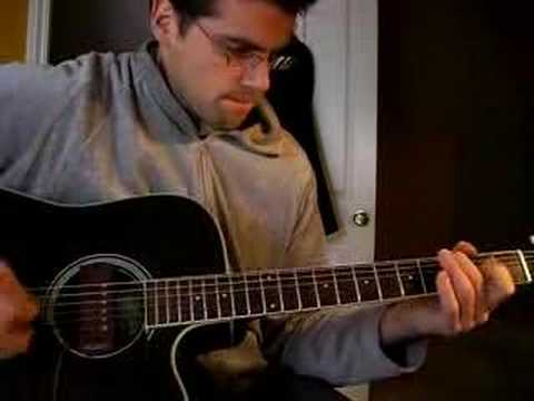 Charlie Brown Peanuts Theme Linus and Lucy Guitar - Matt Porter