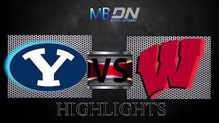 BYU vs Wisconsin Football Highlights (2018)