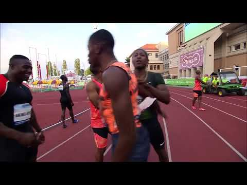 MIKE RODGERS SET A NEW WORLD LEAD 🔥 🔥 🔥 of 9.92s in Josef Odlozil Memorial 2018