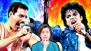 Michael Jackson vs Freddie Mercury (Who was the best?)