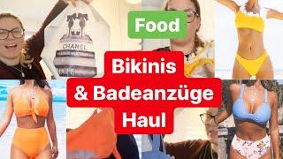 XXL Bademode HAUL - Bikinis, Badeanzüge, Strand Kleider von de.cupshe l Food l Vlog