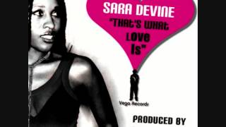 Vega Featuring Sara Devine -- That
