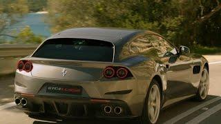 La Ferrari GTC4 Lusso prend la route !