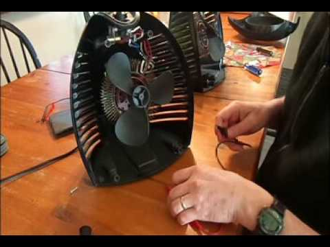 Vornado EH1-0016 type VH2 (or similar) heater repair. - YouTube | Vornado Heater Wiring Diagram |  | YouTube