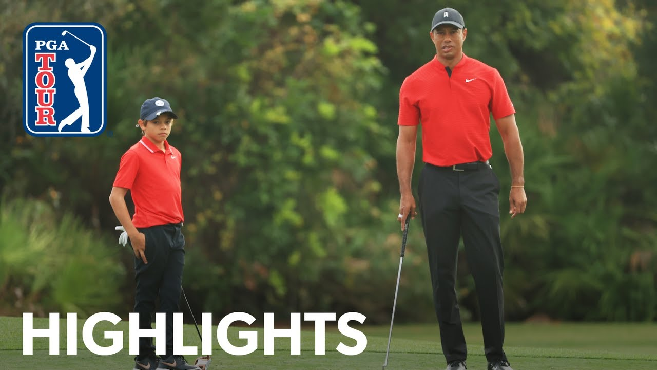Tiger and Charlie Woods' team highlights from PNC Championship | 2020