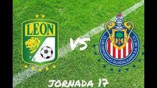 Fifa 18 León vs Guadalajara (jornada 17)