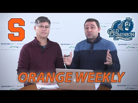 Orange Weekly: Syracuse basketball gets ready for Old Dominion, Buffalo (video)