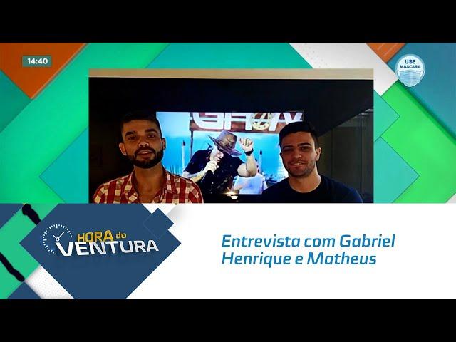 Entrevista com Gabriel Henrique e Matheus; Dupla fala da carreira e experiência em Maceió