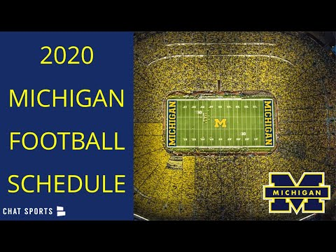 2020 Michigan Football Schedule & Preview | Beat Ohio State Again!