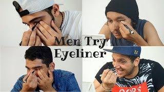 Men Try Eyeliner