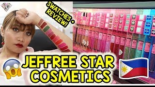 NKKLK! JEFFREE STAR COSMETICS VELOUR LIQUID LIPSTICK SWATCHES [15 SHADES!], REVIEW & WEAR TEST