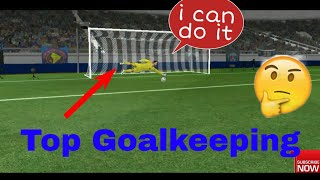 Top 10 Best Goal Keeping 2018 Full HD | Dream League Soccer 2018