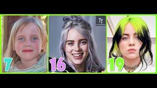 Billie Eilish Photos 2021 Transformation 1 to 19 Years