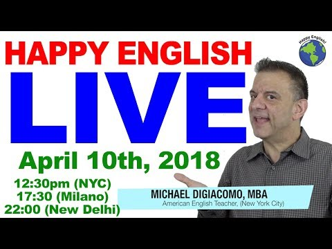 13 vs. 30 (Pronunciation) Time Phrases & Prepositions - Michael from Happy English