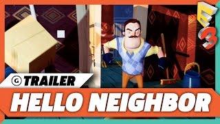 Hello Neighbor   4k Trailer | E3 2017