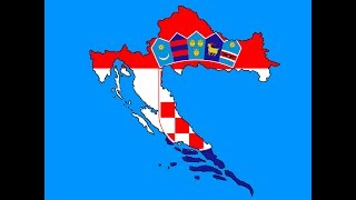 Speed Draw - Croatia Flag Map