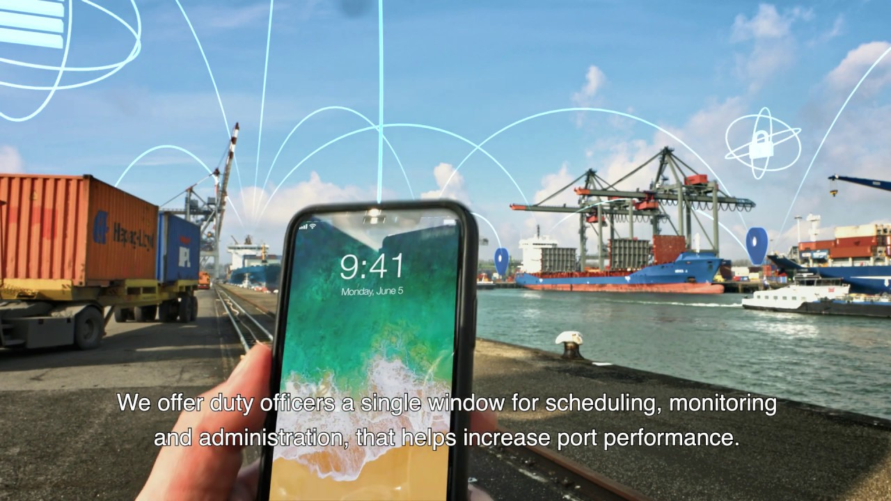 Digital solutions for optimal collaboration within the entire port community.
