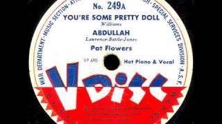 V-Disc 249  Pat Flowers, Muggsy Spainer