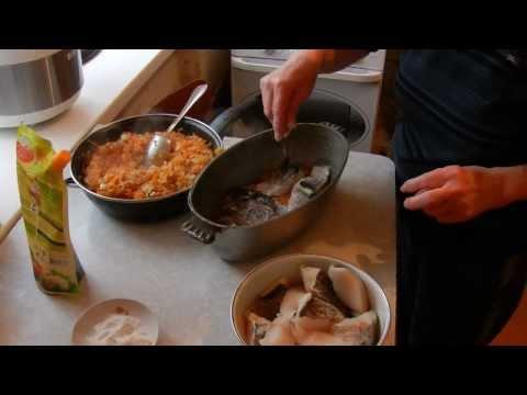 Минтай в духовке ( Самый вкусный рецепт )