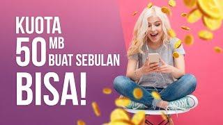 Trik Hemat Kuota 50 MB Untuk 1 Bulan Penuh, Miskin Kuota Wajib Nonton!