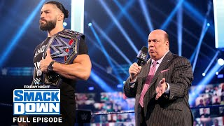 WWE SmackDown Full Episode, 04 September 2020