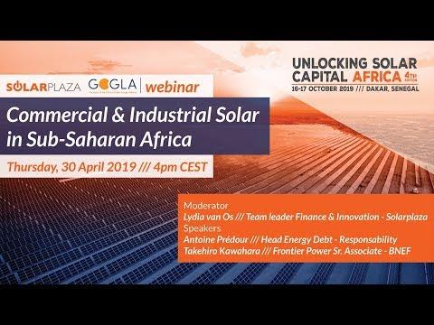 Commercial & Industrial Solar in Sub-Saharan Africa | Unlocking Solar Capital Africa