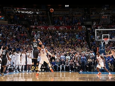 Steph Curry Drains the Game Winner vs Oklahoma City - YouTube