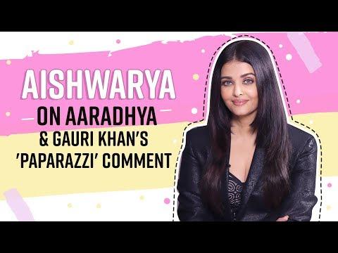 Aishwarya Rai Bachchan on Aaradhya, paparazzi's 'tamasha' and her biography  Maleficent 2