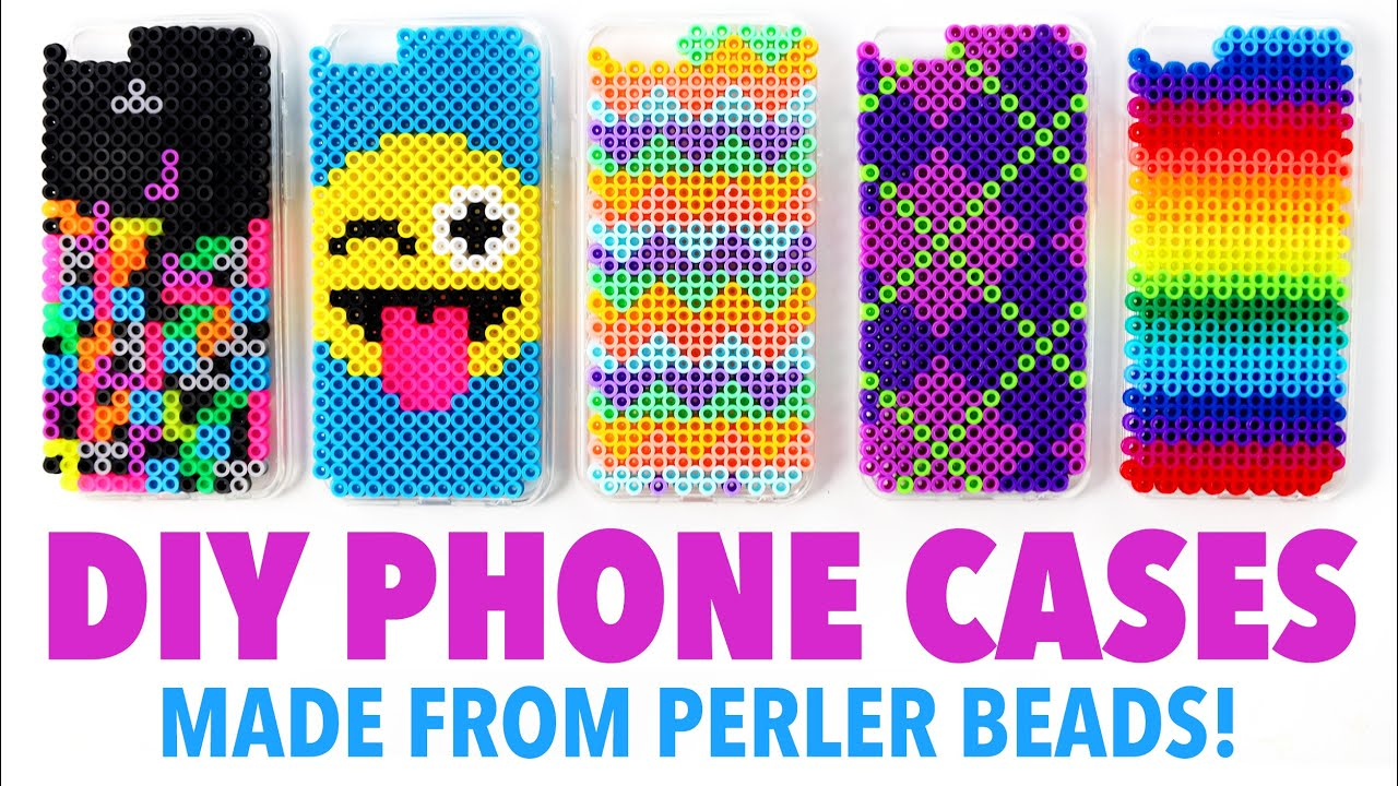 DIY Phone Cases made from Perler Beads! - HGTV Handmade - YouTube