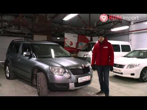 Характеристики и стоимость  Skoda Yeti 2011 год серая (цены на машины в Новосибирске)