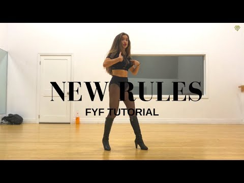 NEW RULES DANCE TUTORIAL II MONICA GOLD CHOREOGRAPHY