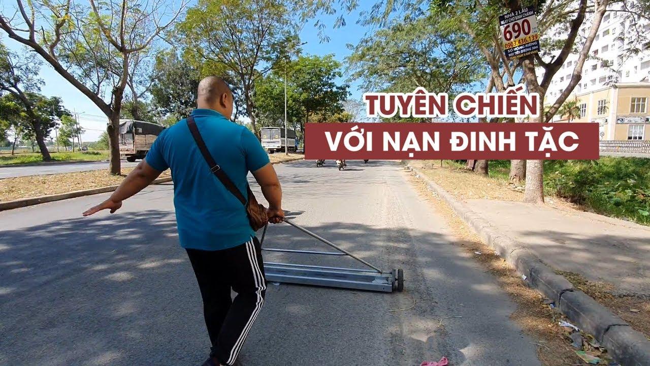 Dân chung cư Sài Gòn góp tiền tuyên chiến với nạn đinh tặc đang hoành hành