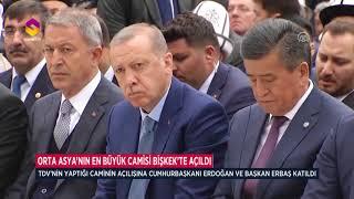 Orta Asya'nın En Büyük Camisi Bişkek'te Açıldı
