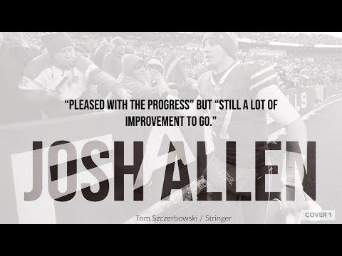 Bills QB Josh Allen 'pleased with the progress' but 'still a lot of improvement to go'