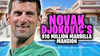 Inside Novak Djokovic's $10 Million Dollar Marbella Mansion!