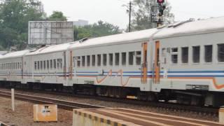 Logawa Berangkat Stasiun Purwosari | Sepur andalane wong Purwokerto merantau maring Surabaya
