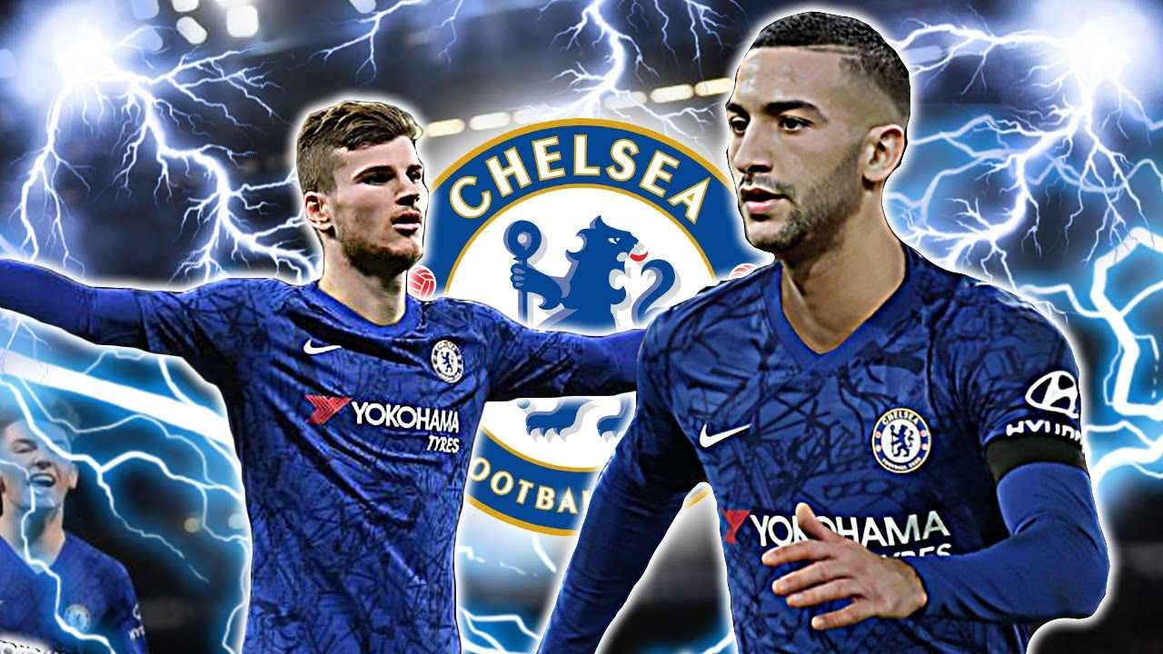 How TIMO WERNER & HAKIM ZIYECH Could Line Up For Chelsea! And What ...