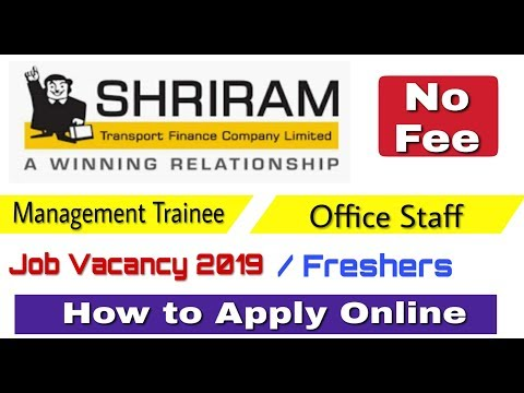 Shriram Finance Recruitment 2019 II Private Job 2019 II How to Apply Online II Learn Technical