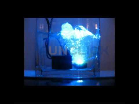Bomba de agua sumergible con Luces led - YouTube