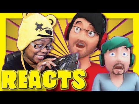 The Help Desk | JackSepticEye & Markiplier Animated | Bumbleworth Reaction | AyChristene Reacts