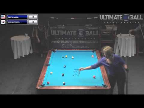 Ga Young Kim v Laura Smith Ultimate 10 Ball Championships 2013